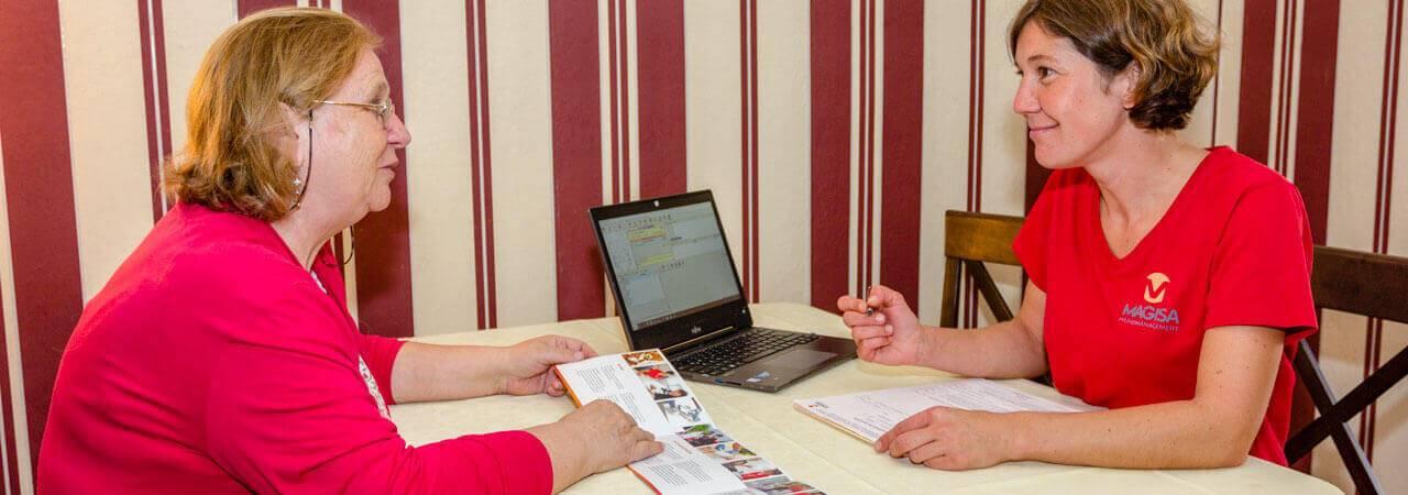 Lösungen für die Wundbehandlung im persönlichem Umfeld - MAGISA Wundmanagement