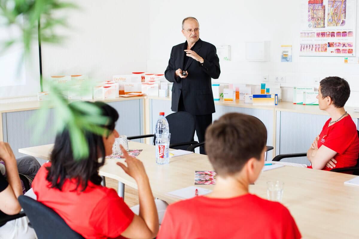 Permanente Weiterbildung der Wundexperten - Moderne Wundversorgung - MAGISA