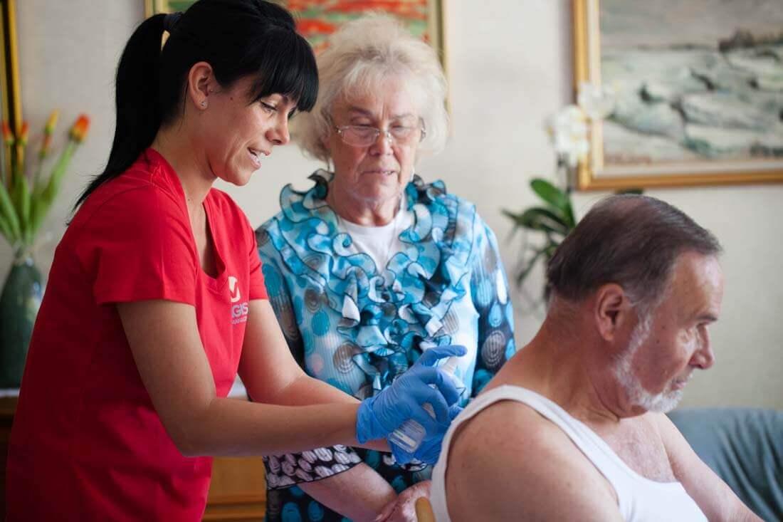 Professionelle Wundversorgung in den eigenen 4 Wänden durch die Experten von MAGISA Wundmanagement.