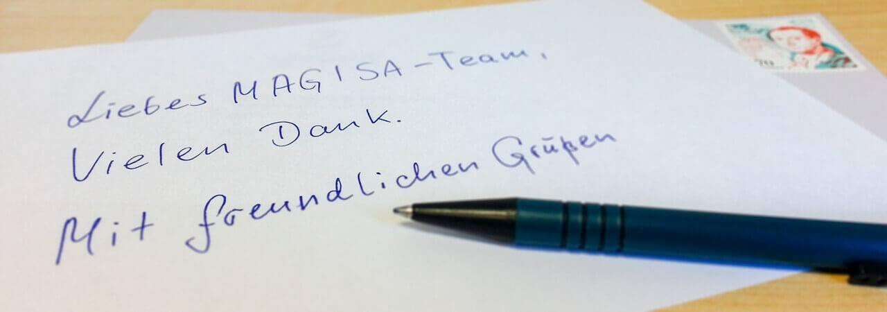 Meinungen - MAGISA Wundmanagement GmbH