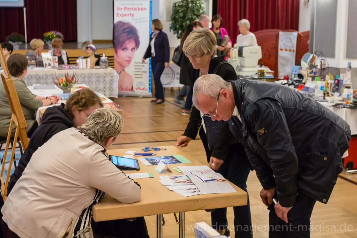 5. Gesundheitsmesse in Fürstenwalde(Spree) - MAGISA Wundmanagement GmbH informierte Interessenten zum Thema Wundversorgung und -management von chronischen Wunden infolge von Durchblutungsstörungen, Venenschwäche und Diabetes.
