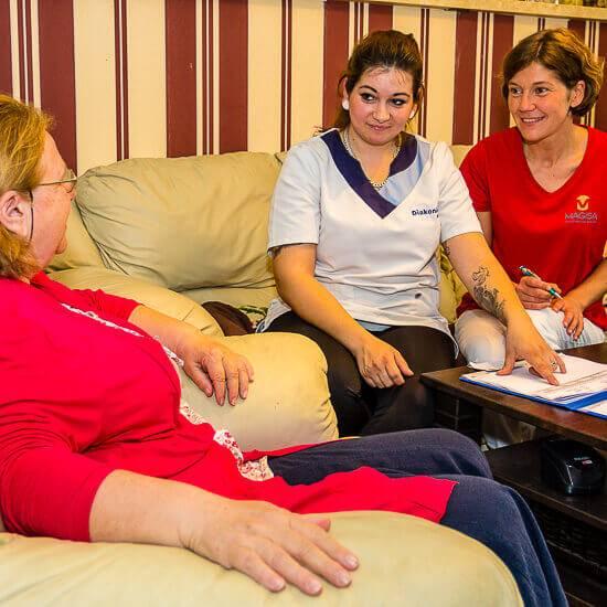 Persönliche kompetente Ansprechpartner für Fragen und zur Unterstützung - MAGISA Wundmanagement